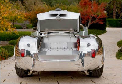 Aluminum Cobra Rear Trunk