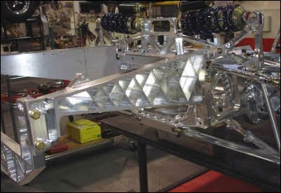 Aluminum Cobra Suspension Chassis