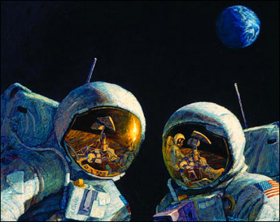 Alan Bean Astronaut Paintings