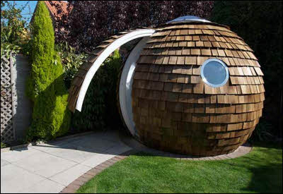The Backyard Office Pod