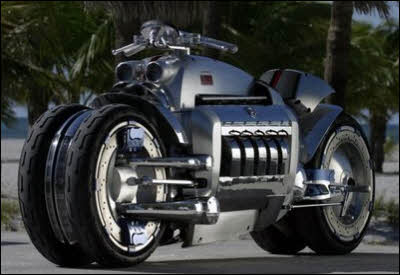 Dodge Tomahawk is a concept motorcycle