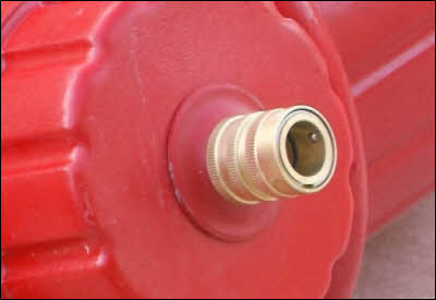 Dog Fireplug Hose Fitting