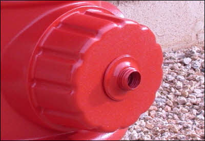 Dog Fireplug Hose Threads