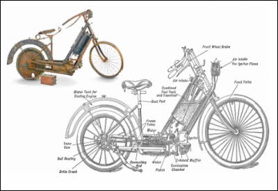 World's First Motorcycle For Sale