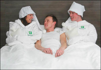 Holiday Inns Offer 'Human Bed-Warming' Service