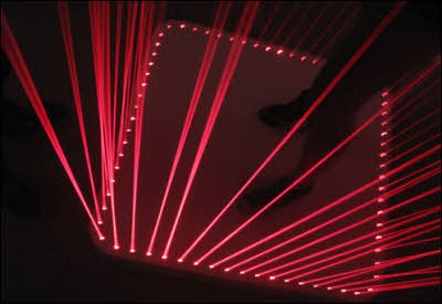 Home Laser Dance Cage