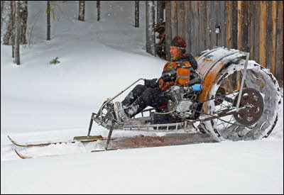 Homemade Snowmobile Designs