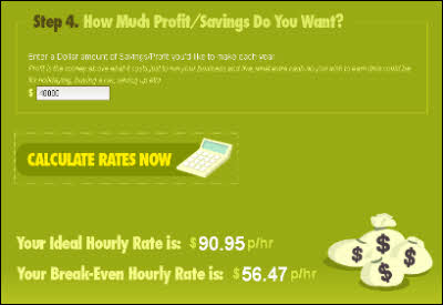 Hourly Rate Calculator