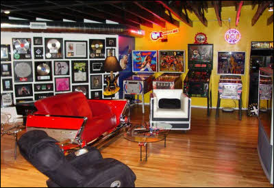 The House of Rock Man Cave