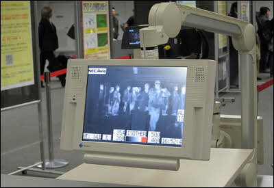 Infrared Camera Detects Fever