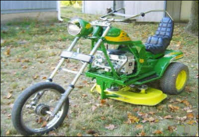John Deere Chopper Motorcycle