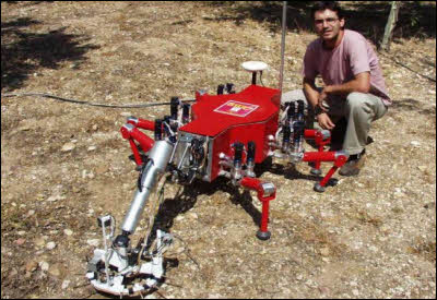 Land Mine Detection Robot