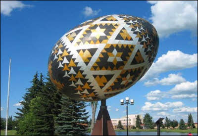 World's Largest Easter Egg