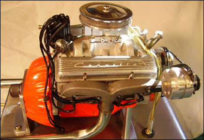 Miniature Chevy V8 Engine