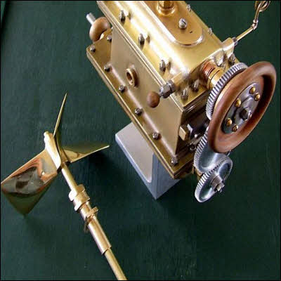 Miniature Naphtha Launch Engine