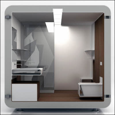 Modular Bathroom Modern Diy Art Designs