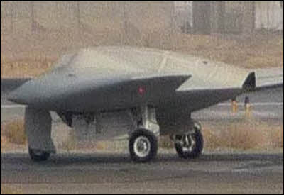 Secret US Stealth Aircraft
