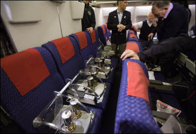 The Olympic Flame Gets Six Seats for Flight