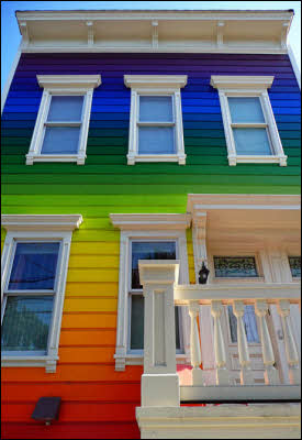Outrageously Painted Homes