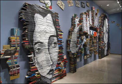 Paintings on Books