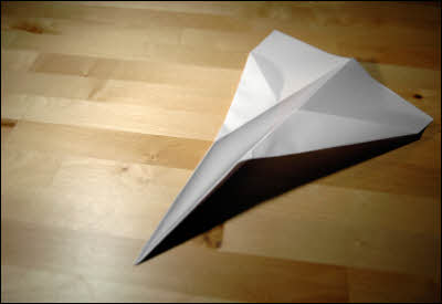 Paper Airplane Speed Record