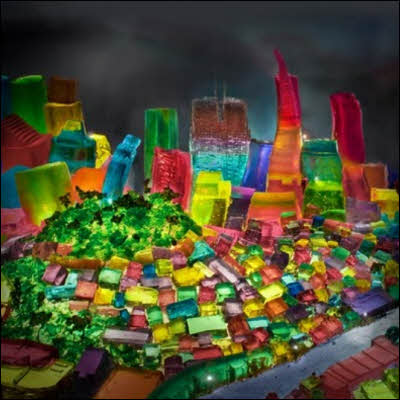 San Francisco Made from Jell-O