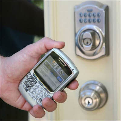 Schlage LiNK: Lock Or Unlock Your Home Door With A Cell Phone