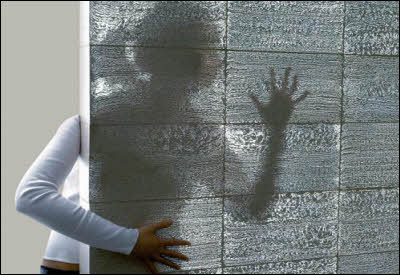 See Through Concrete Walls