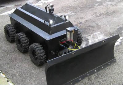 Robotic Snow Plow