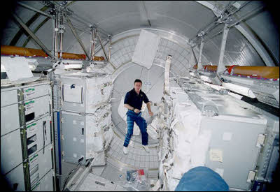 Space Station To Get Man Cave