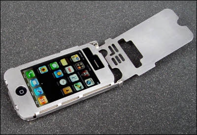 Stainless iPhone Case