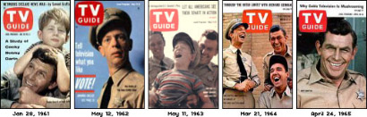TV Guides - The Andy Griffith Show Featured on TV Guide