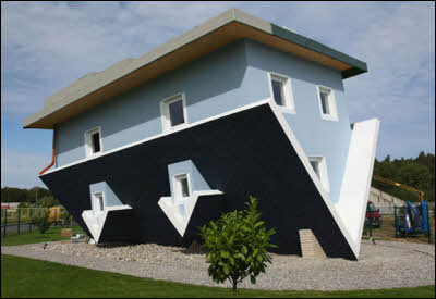 Upside Down Home in Germany