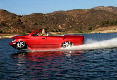 WaterCar Python amphibious vehicle