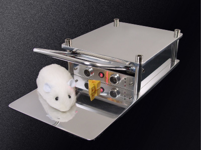 Better Mousetrap Mouse with Black Background