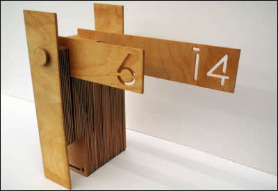 Wood Calendar