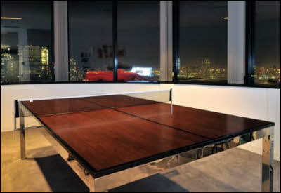 Ping Pong Table for Work and Play